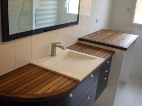 meuble salle de bain bateau